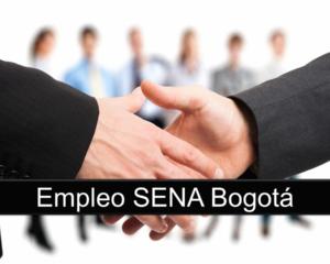 Empleo SENA Bogotá