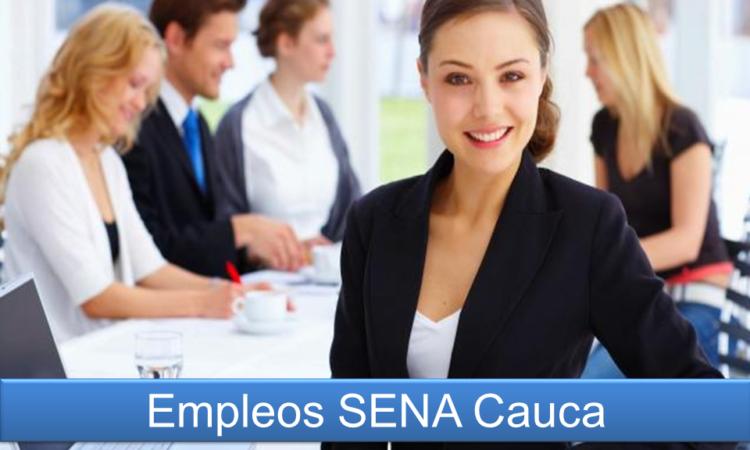 Empleos SENA Cauca