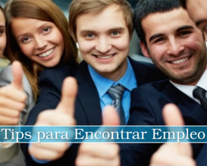 Tips para Encontrar Empleo