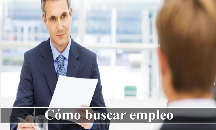 Cómo buscar empleo