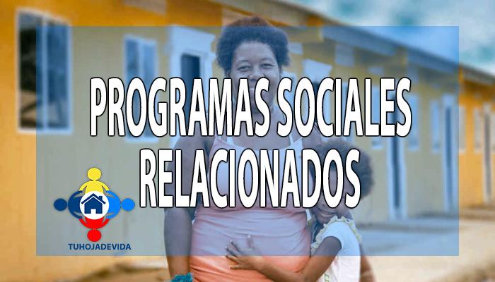 Programas Sociales relacionados