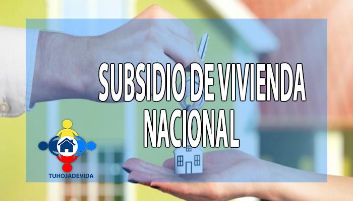 Subsidio de Vivienda Nacional